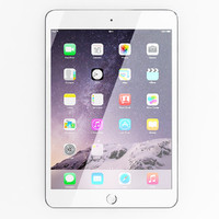 3d apple ipad mini 3 model