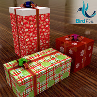 3ds max gift boxes