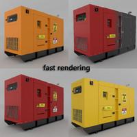 generator power 3d max