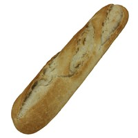 french baguette - small 3d obj