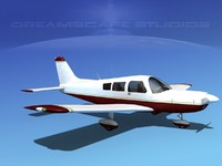 3d propeller piper pa-28 pa-28-235