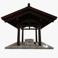 3d asian gate model