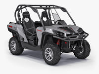 3d can-am commander xt model