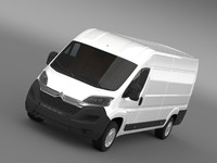 3d model citroen relay van l4h2