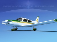 3ds propeller piper pa-28 pa-28-235