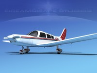 3ds max propeller piper pa-28 pa-28-235