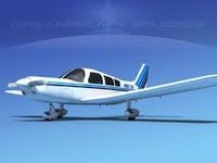 maya propeller piper pa-28 pa-28-235