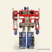 optimus prime toy 3d x