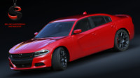 3d dodge charger r t model