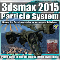 3ds max 2015 Particle System e Particle Flow_Subscription