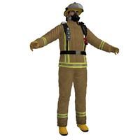 3d max fireman 2