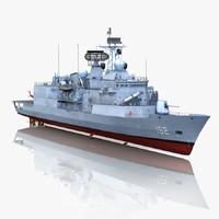 3ds max anzac class frigate hmas