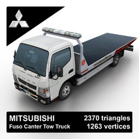 mitsubishi fuso canter tow truck max