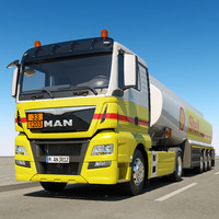 man tgx xl fuel c4d