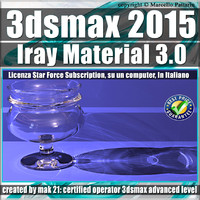 3ds max 2015 Iray Material vol 3 Subscription