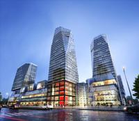 3d modular skyscraper business center