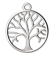 tree pendant jewelry 3d model