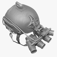 Ballistic Helmet & Ground Paranomic Night Vision Goggles