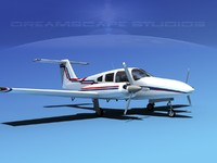 piper seminole 3d model
