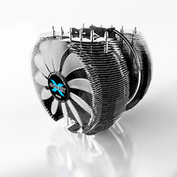 cpu cooler 3d 3ds
