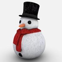 maya little snowman