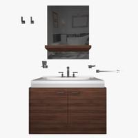 bathroom furniture 3ds