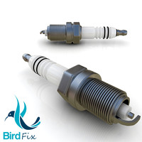 spark plug 3d max