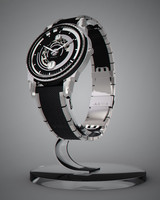 swiss watch 3d 3ds