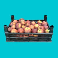 3ds max crate peaches -