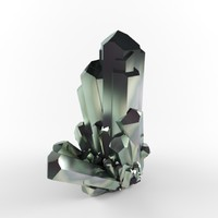 crystal emerald 3d max