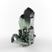 crystal emerald 3d max