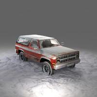 Snowy Chevrolet K5 Blazer