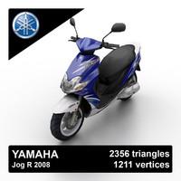 2008 yamaha jog r 3d 3ds