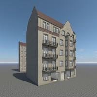 berlin residence finowstrasse 34 3d obj