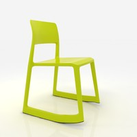 tip ton chair vitra 3ds