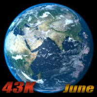 3d earth june model