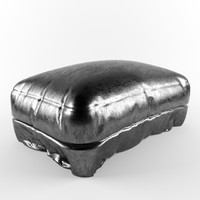 leather ottoman max