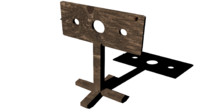 pillory medieval 3d model