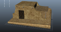 arabic house 3d dxf