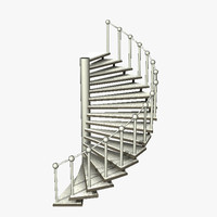 3ds max stairs steps stairway
