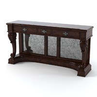 3d lexington greenwich console model