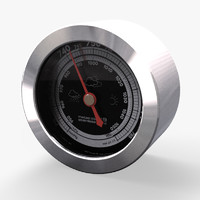 Barometer from table weather station RST meteo ctrl 19