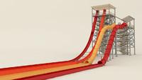 3d model water close slide