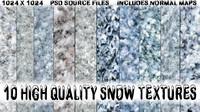 Snow Terrain Textures | Volume 1