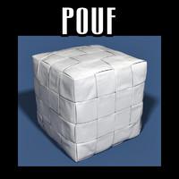 pouf interiors 3d model