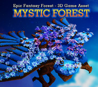 Fantasy Mystic Forest