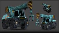 crane aliens 3d ma