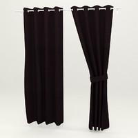 curtain scanline 3d model
