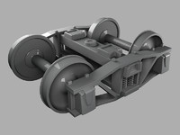 train bogie 3d model