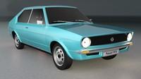 1973 brazilian passat 3d model